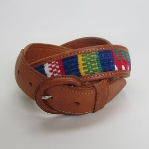 Woven Mexican Style Belt